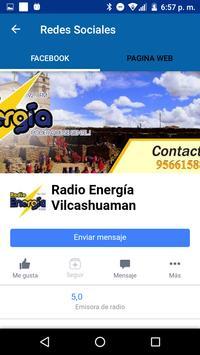 Radio Energia screenshot 2