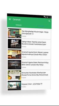Video Ceramah Rodja Tv screenshot 2