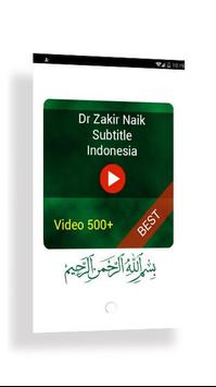 Video Dr Zakir Indonesia poster