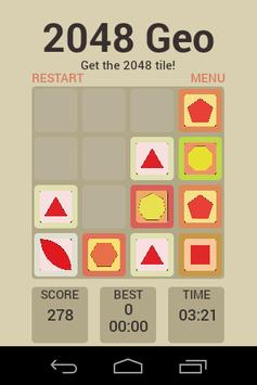 2048 Geometric apk screenshot