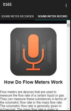 Sound Meter Recorder apk screenshot
