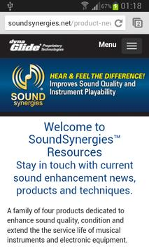 Sound Synergies poster