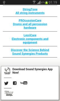 Sound Synergies apk screenshot
