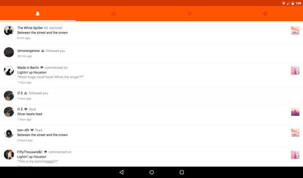 SoundCloud Pulse: for Creators apk screenshot