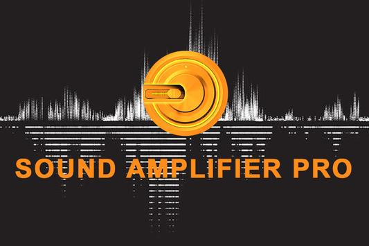 Sound Amplifier Pro poster