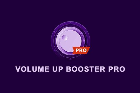 Volume Up Booster Pro poster