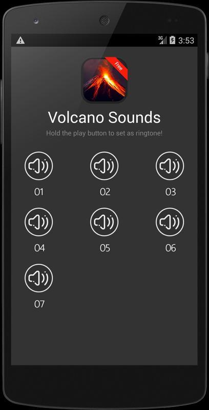 Download volcano eruption sound.