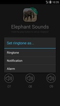 Elephant Sounds and Ringtones apk screenshot