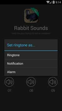 Rabbit Sounds and Ringtones apk screenshot