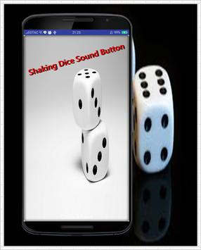 Shaking Dice Sound Button poster