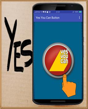 Yes You Can Button screenshot 1