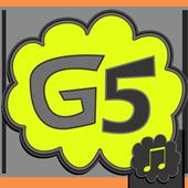 LG G5™ tonos para celular icono