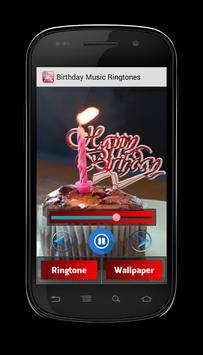 Birthday Music Ringtones apk screenshot