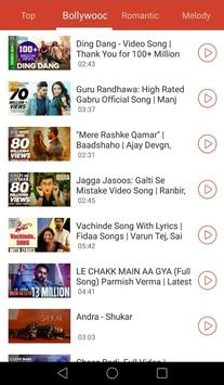 Bollywood  - MusicHindi Music & Raido, Gaana Music screenshot 2