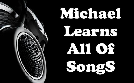 Michael Learns TR All Of Songs screenshot 1