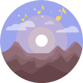 Sounds and videos for relaxation and sleep icon