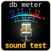 db meter sound test(Sonomètre) icon