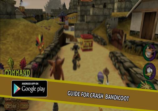new guide for crash bandicoot apk screenshot