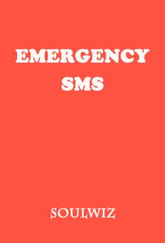 Emergency SMS poster