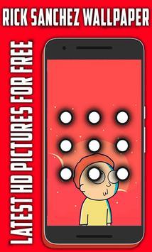 Rick Sanchez Lock Screen poster
