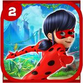 Ladybug Jumping The Hero Chibi icon