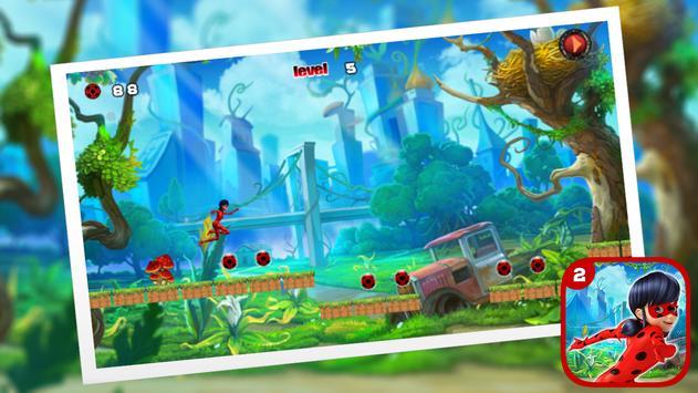 Ladybug Jumping The Hero Chibi screenshot 3