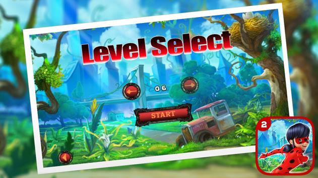 Ladybug Jumping The Hero Chibi screenshot 1