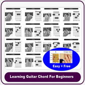 Learning Guitar Chord For Beginner icon