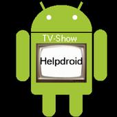 TV Show Helpdroid icon