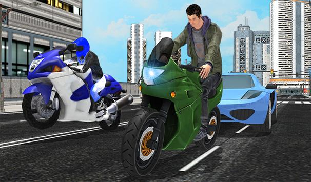 Sports Bike City Drag Racing apk screenshot