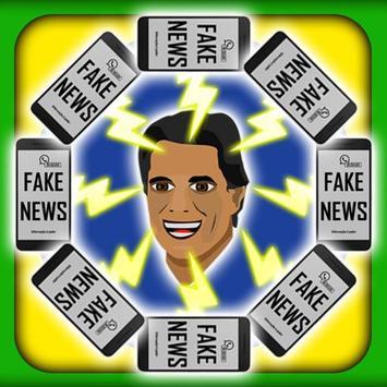 Haddad contra Fake News poster