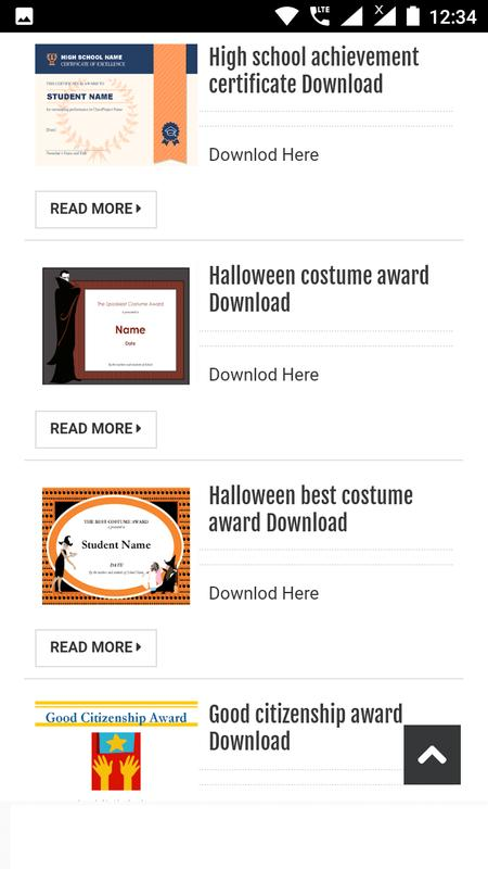 Certificates Office Templates For Android Apk Download