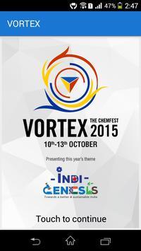 Vortex: The Chemfest 2015 poster