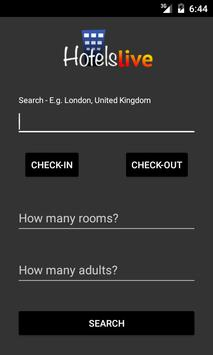 Hotelslive Booking Tool poster