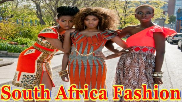 South Africa Fashion poster