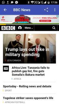 South African News screenshot 1