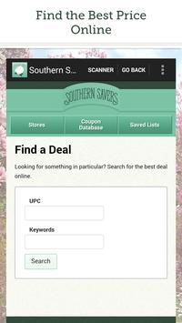 Southern Savers apk screenshot
