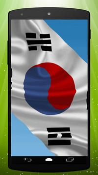South Korean Flag LWP poster