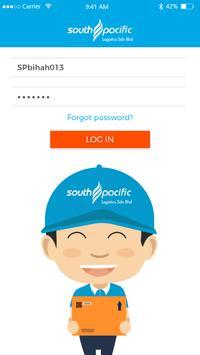 SouthPacific Logistics poster