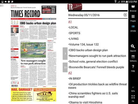 SW Times Record e-Edition apk screenshot