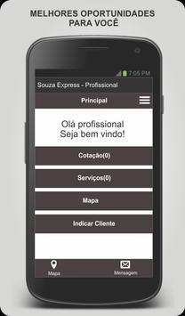 Souza Express - Profissional screenshot 3