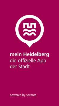 mein Heidelberg poster