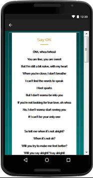 Vanessa Hudgens Song Lyrics apk screenshot