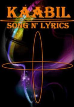 Kaabil Song Lyrics poster
