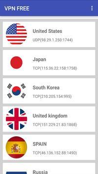 VPN Free For Egypt Simulator apk screenshot