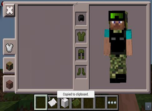 More +Armor MOD for MCPE تصوير الشاشة 2