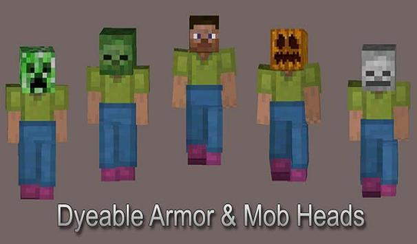 More +Armor MOD for MCPE تصوير الشاشة 4