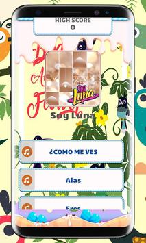Soy Luna Piano Tiles Music poster