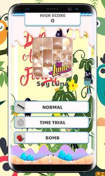 Soy Luna Piano Tiles Music screenshot 1