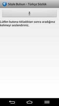 Söyle Bulsun Türkçe Sözlük poster